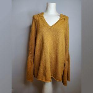 Style & Co. Mustard Yellow Boho Sweater